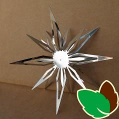 Stjerneophæng Sølv 15 cm.