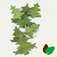 Deco Grønne juletræer 9 stk.