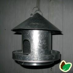 Fuglefoderhus hængende rund metal hus