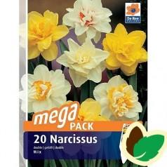 Påskeliljeløg Dobbelt Mix - Narcissus / 20 Løg