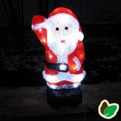 Julebelysning - Julemand Akryl 30 cm.