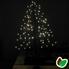 Julebelysning - Lystræ - Flat tree 120 cm.