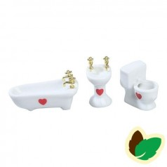 Nissedør Tilbehør - Badeværelses sæt