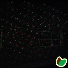 Star shower laserlys - Laser julebelysning Grøn/Rød