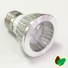 Vækstlys pære - 3W - 6 LED/SMD