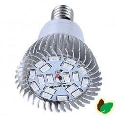 Vækstlys pære - 4W - 18 LED/SMD - E14