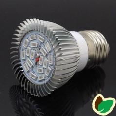 Vækstlys pære - 20W - 18 LED/SMD - E14