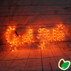 Flagstangs Lysnet - 8 meter - 480 LED - Julebelysning