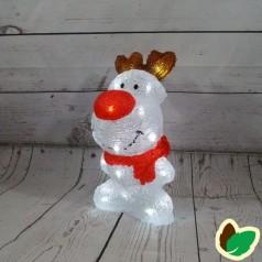 Julebutterfly - Sort snefnug