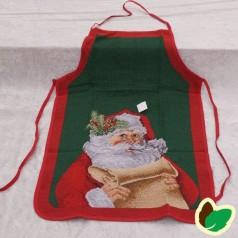 Juleforklæde Julemand læser ønskeseddel - Voksen