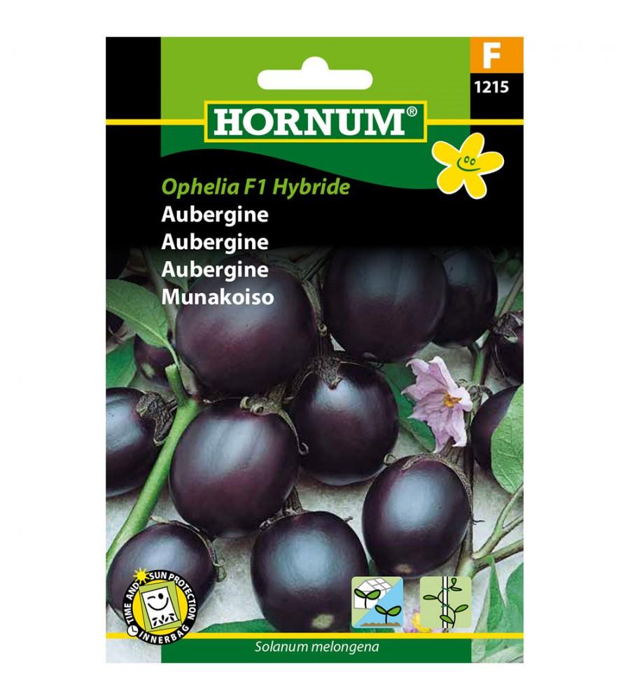 Aubergine frø - Ophelia F1 Hybrid