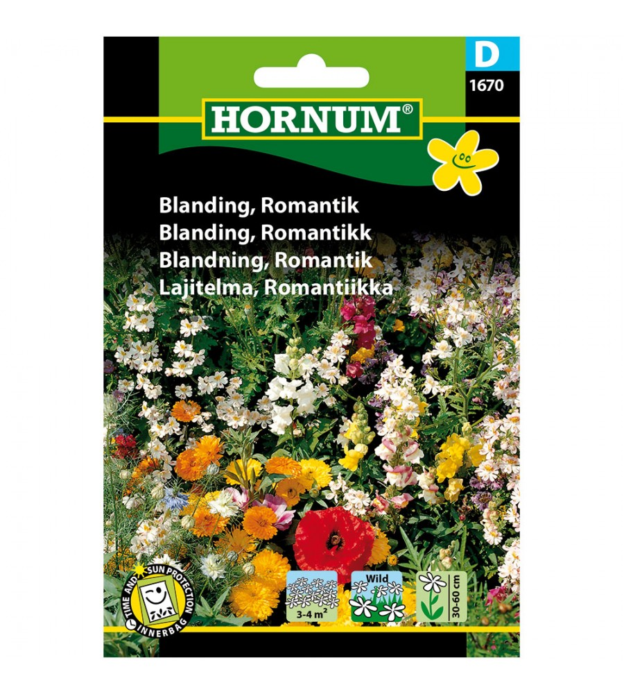 Blomsterblanding Frø - Romantik