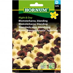 Blomsterkarse Frø - Night & Day Blanding