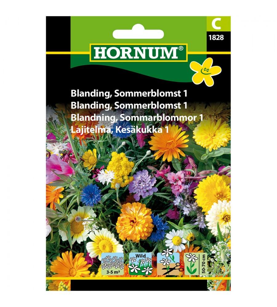 Blomsterblanding Frø - Sommerblomst 1