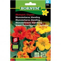 Økologisk Blomsterkarse Blanding - Frø
