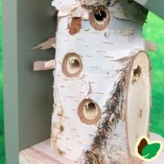 Insekthus 'Træstup'