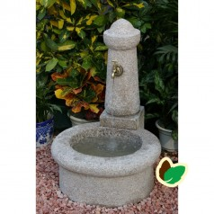 Granit vandfontæne