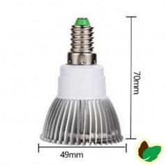 Vækstlys pære - 18W - 18 LED - E14