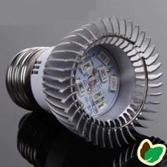 Vækstlys pære - 10W - 10 LED - E27
