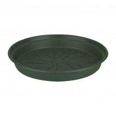 Elho Basics - Underskål 25 cm Grøn