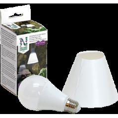 Vækstbelysning LED-lampe 15W med skærm
