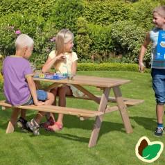 Børne bord-/bænkesæt, Lærk