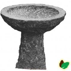Grå Granit Fuglebad