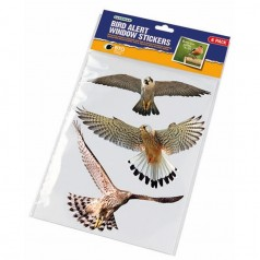Fugleskræmmer til vindue - 6 stk.