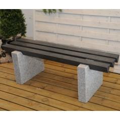 Granit bænk 150 cm