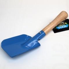 Hånd Børneskovl - Blå m/ træskaft