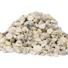 Granitskærver hvid 8/11mm