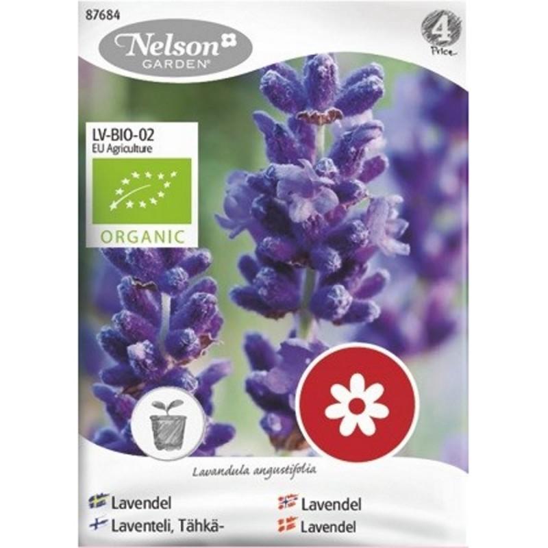 Økologisk Lavendel frø