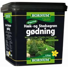 Hæk- og stedsegrøn Gødning - Organisk 5 L