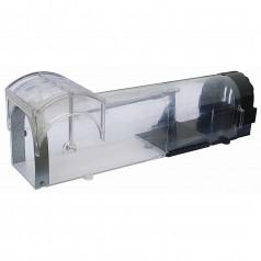 Musefælde - Transparent plast kabinet