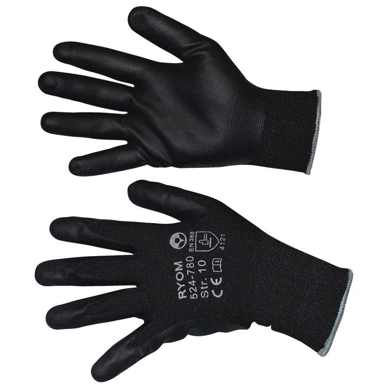 Arbejdshandsker / Grip handske Str. 10