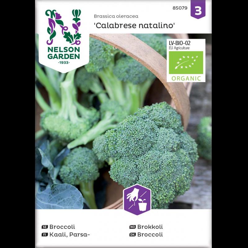 Økologisk Broccoli frø