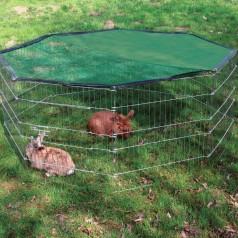 Kaninløbegård Overdækket