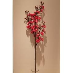 Blomster Gren Kraftig Kunstig – Rød 95 cm.