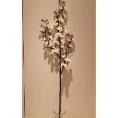 Blomster Gren Kraftig Kunstig – Hvid 95 cm.