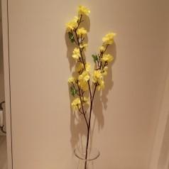 Blomster Gren Kunstig – Gul 65 cm.