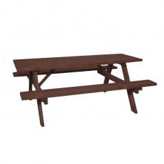 Bord-/Bænkesæt Brun - FSC® Certificeret Træ