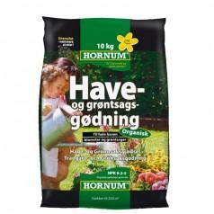 Have Og Grøntsagsgødning 10 Kg. NPK 9-2-5 / Organisk Gødning