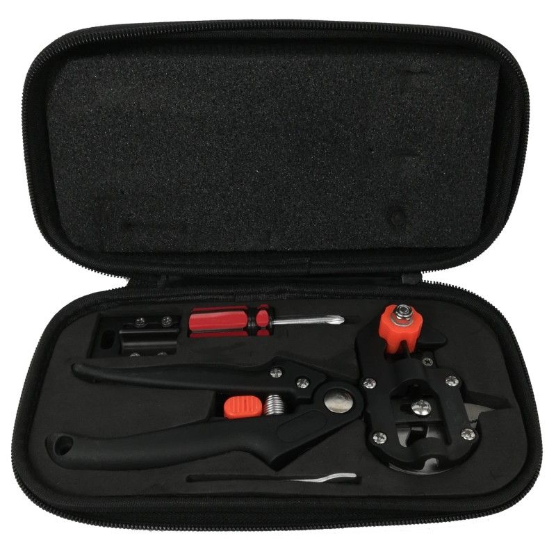 Podesaks med opbevaringstaske, knive og værktøj