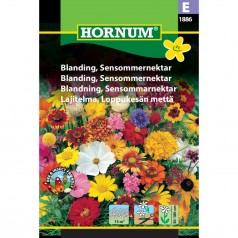 Blomsterblanding frø, Sensommernektar