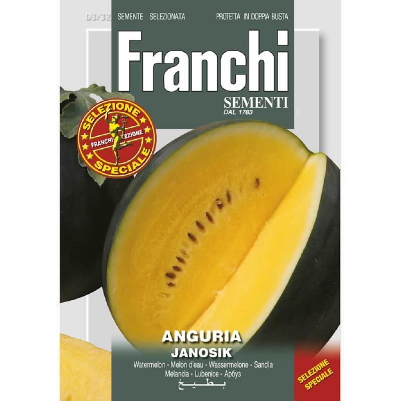 Gul vandmelon frø 'Janosik'