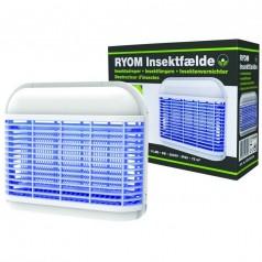 Insektfælde Plast 8-LED 6w 75 m2