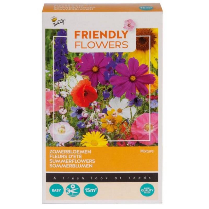 Blomsterblanding frø 'Sommerblomster'