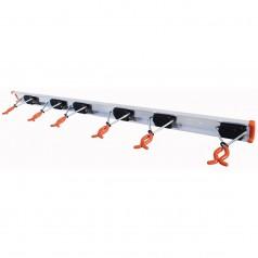 Redskabsholder med 6 holdere, 100cm