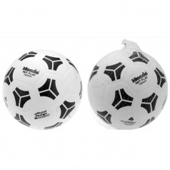 Fodbold i kraftig plast