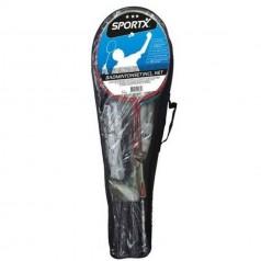 SportX badminton sæt inkl. Net